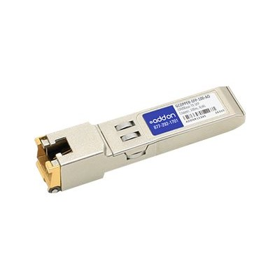 AddOn Networks GCOPPER-SFP-100-AO Sixnet GCOPPER-SFP-100 Compatible TAA Compliant 1000Base-TX SFP Transceiver (Copper  100m  RJ-45)