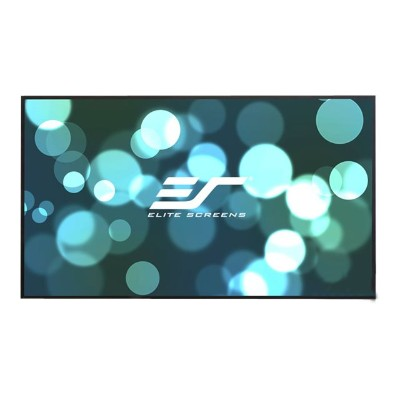 Elite Screens AR100WH2 Aeon Series AR100WH2 - Projection screen - wall mountable - 100 (100 in) - 16:9 - CineWhite - black