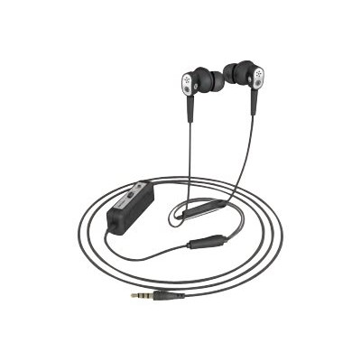 Spracht ANC-3010 Konf-X-Buds In-Ear Headphones - Active noise-canceling technology blocks over 90% of distracting background noise. - Black