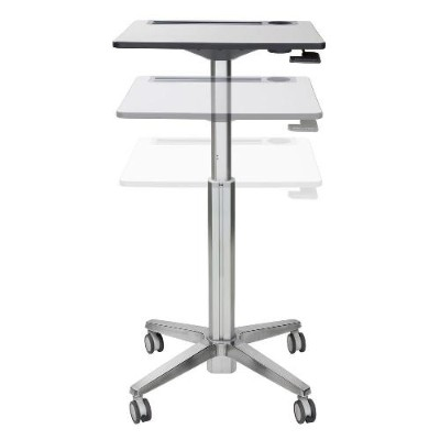 Ergotron 24-481-003 LearnFit Sit-Stand Desk  Tall / Mobile Student Desk