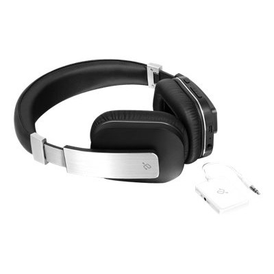 Aluratek ABT01FKIT ABT01FKIT - Headphones - full size - Bluetooth - wireless - with  Bluetooth Universal Audio Transmitter