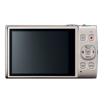 Canon 1078C001 PowerShot ELPH 360 HS - Digital camera - compact - 20.2 MP - 1080p / 29.97 fps - 12x optical zoom - Wi-Fi  NFC - silver