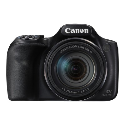 Canon 1067C001 PowerShot SX540 HS - Digital camera - compact - 20.3 MP - 1080p / 60 fps - 50x optical zoom - Wi-Fi  NFC - black