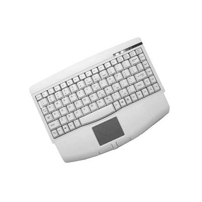 Adesso ACK-540PW Mini-Touch Keyboard with Touchpad - PS/2 - White