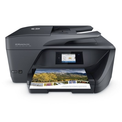 HP Inc. T0F28A#B1H OfficeJet Pro 6968 All-in-One Printer - Print  Copy  Scan  Fax - Up to 18ppm Black  up to 10ppm Color  600 x 1200 dpi  2.65 CGD Touchscreen