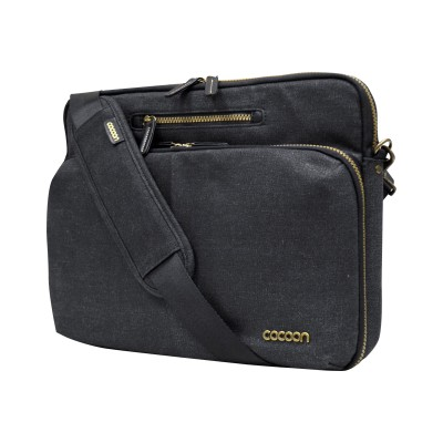 Cocoon MMS2504BK Urban Adventure - Notebook carrying shoulder bag - 13 - black