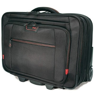 Mobile Edge MEPRC1 Professional Rolling 13 to 17.3 Laptop/Tablet Case - Black
