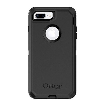 Otterbox 77-54089 Defender Series Case for iPhone 8 Plus and iPhone 7 Plus - Black