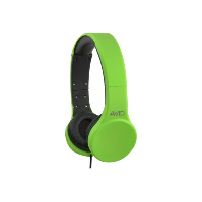Avid 2EDU-421332-GRN AE-42 - Headphones with mic - on-ear - wired - 3.5 mm jack - green