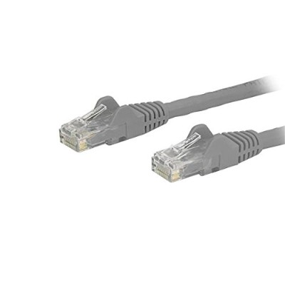 StarTech.com N6PATCH150GR 150ft Cat 6 Snagless Ethernet Patch Cable - Gray