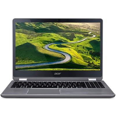 Acer NX.GP7AA.006 Aspire R 15 - R5-571TG-51A3 7th Gen Intel Core i5-7200U Dual-Core 2.50GHz Convertible Notebook - 8GB RAM  1TB HDD + 128GB SSD  15.6 FHD Multi-