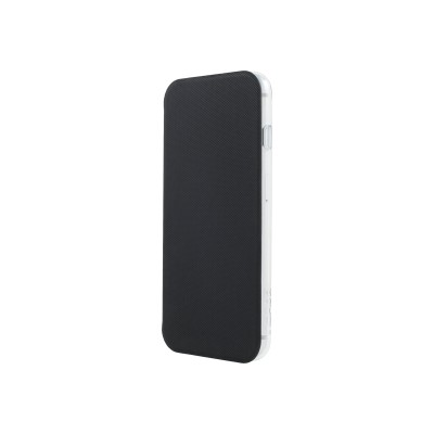 Incipio IPH-1617-CBK NGP Folio - Flip cover for cell phone - black/clear - for Apple iPhone 6 Plus  6s Plus  7 Plus  8 Plus