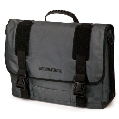 Mobile Edge MEGME 15.6 to 17.3 Graphite Messenger Bag - Graphite