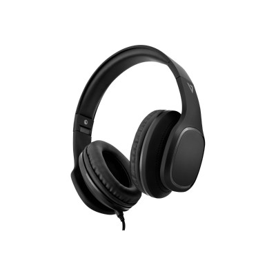 V7 HA701-3NP Premium 3.5mm Over-Ear Stereo Headphones with Microphone - Black
