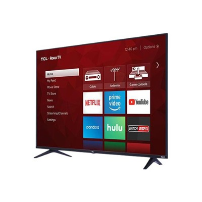 TCL Corporation 43S517 43S517 - 43 Class (42.5 viewable) - 5 Series LED TV - Smart TV - Roku TV - 4K UHD (2160p) 3840 x 2160 - HDR