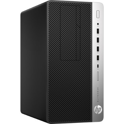 HP Inc. 4HY45UT#ABA EliteDesk 705 G4 - Micro tower - 1 x A10 PRO-9700 / 3.5 GHz - RAM 8 GB - HDD 500 GB - DVD-Writer - Radeon R7 - GigE - Win 10 Pro 6