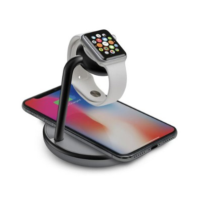 KANEX K118-1138-QI GoPower Stand For Apple Watch + Wireless Charging For iPhone