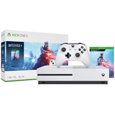 Xbox One S 1TB Console - Battlefield V Bundle - Microsoft 234-00679