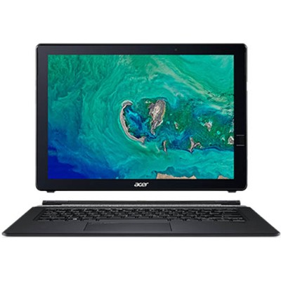 Acer NT.LEPAA.001 Switch 7 SW713-51GNP-879G - Black Edition - tablet - with detachable keyboard - Core i7 8550U / 1.8 GHz - Win 10 Pro 64-bit - 16 GB