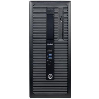 HP Inc. PC2-3150 EliteDesk 800 G1 Intel Core i5-4570 3.2GHz MT PC - 16GB RAM  2TB HDD  DVD-ROM  Intel HD Graphics  Gigabit Ethernet  Microsoft Windows