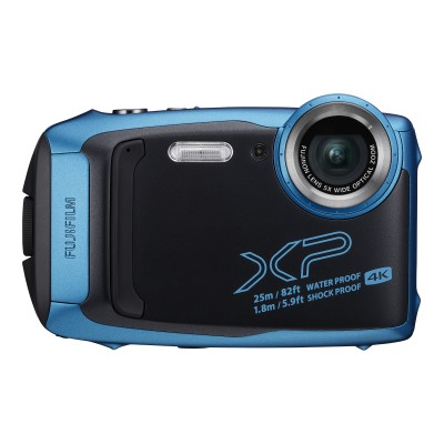 Fujifilm 600020656 FinePix XP140 - Digital camera - compact - 16.4 MP - 4K / 15 fps - 5x optical zoom - Fujinon - Wi-Fi  Bluetooth - underwater up to