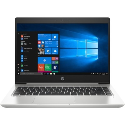 HP Inc. 7AE08UT#ABA ProBook 455 G6 AMD Ryzen 5 2500U Quad-Core 2GHz Notebook PC - 8GB RAM (2D)  256GB M2 PCIe NVMe TLC SSD  15.6 LED HD SVA Anti-Glare