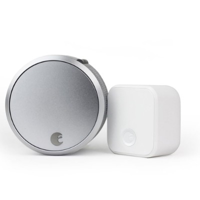 August AUG-SL03-C02-S03 Smart Lock Pro + Connect (Silver)