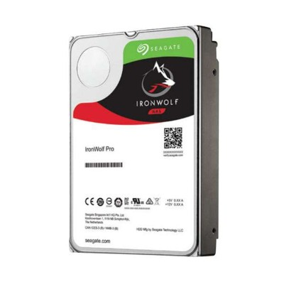 Seagate ST4000NE001 IronWolf Pro 4TB Internal Hard Drive - 3.5  SATA 6Gb/s  128MB Buffer  214MBps Internal Data Rate  IronWolf Health Management  Incl