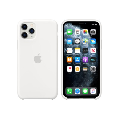 Apple MWYL2ZM/A iPhone 11 Pro Silicone Case - White
