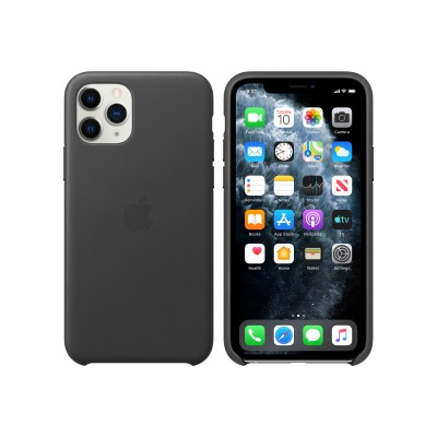 Apple MWYE2ZM/A iPhone 11 Pro Leather Case - Black
