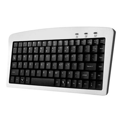 Adesso AKB-901 88 Key Mini Keyboard - USB + PS/2