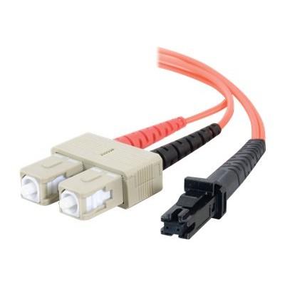 C2G 33145 1m MTRJ-SC 62.5/125 OM1 Duplex Multimode PVC Fiber Optic Cable - Orange - Patch cable - MT-RJ multi-mode (M) to SC multi-mode (M) - 1 m - fiber optic