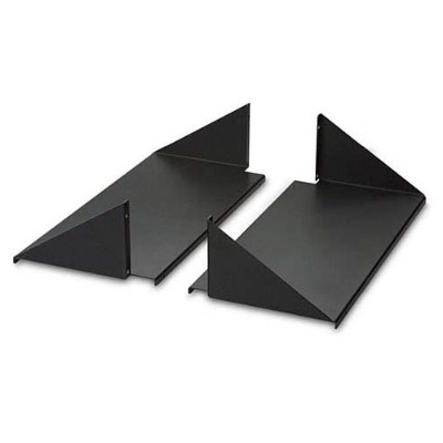 Belkin RK5025 Double-Sided 2-Post Shelves 18 Depth - Rack shelf - black - 19 (pack of 2)