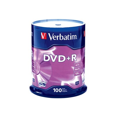 Verbatim 95098 4.7 GB 16x DVD+R (100 pack)