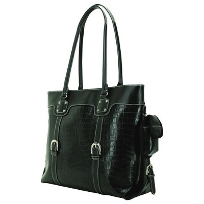 Mobile Edge METSC1 Signature Tote - Faux-Croc