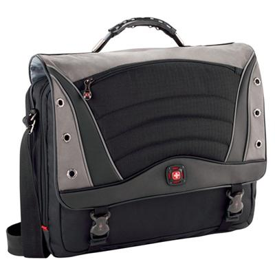 Victorinox Swiss Army GA-7488-14F00 SATURN 17 Laptop Messenger Bag - Black