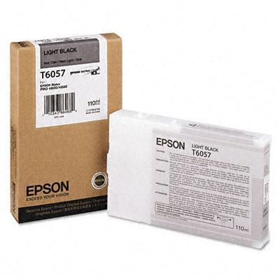 Epson T605700 110ml Light Black UltraChrome Ink Cartridge for Stylus Pro 4880