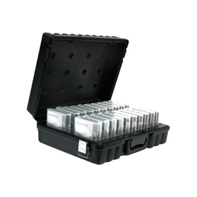 Perm A Store 01-672900 Turtle - Media storage box - capacity: 20 LTO tapes - black