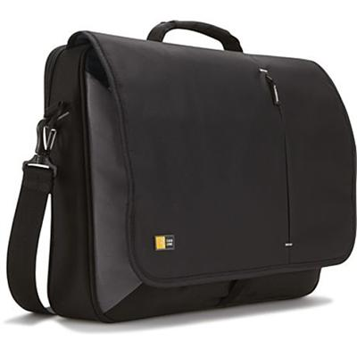 Case Logic VNM-217BLACK 17 Laptop Messenger Bag - Black