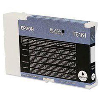 Epson T616100 T6161 - Black - original - ink cartridge - for B 300  500DN