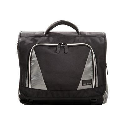 ECO Style EVOY-MC16 16.4 Sports Voyage Messenger Case -  Black/Platinum