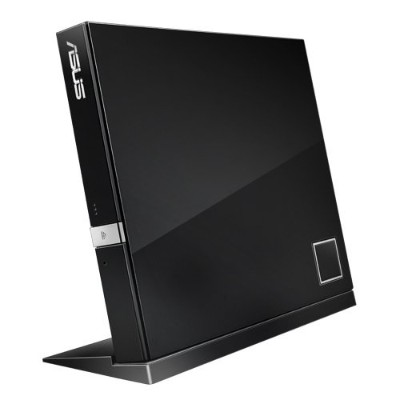 ASUS SBW-06D2X-U USB 2.0 Blu-ray Writer  BD-R/RE Support  24x CD Read/24x CD Write/16x CD Rewrite  6x BD Read/6x BD Write/2x BD Rewrite  8x DVD Read/8