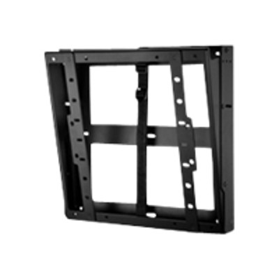Peerless DST660 Flat/Tilt Wall Mount with Media Device Storage DST660 - Wall mount for LCD / plasma panel - black - screen size: 40-60