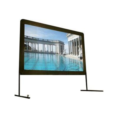 Elite Screens OMS100H Yard Master Series OMS100H - Projection screen legs - 100 (100 in) - 16:9 - DynaWhite