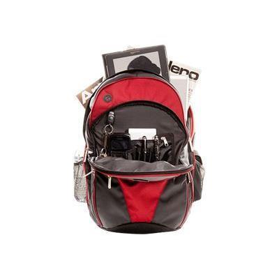 ECO Style EVOR-BP16-CF Sports Vortex Backpack Checkpoint Friendly - Red
